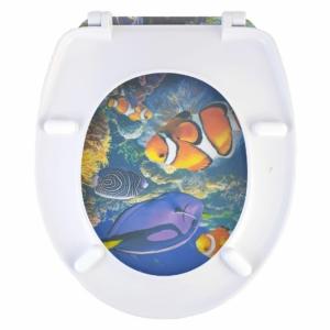 Bath Duck Wc-Ülőke - Duroplaszt - Rozsdamentes Acél Zsanérokkal - Nemo