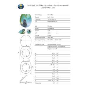 Bath Duck Wc-Ülőke - Duroplaszt - Rozsdamentes Acél Zsanérokkal - Spa