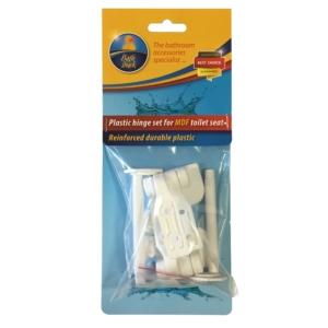 Bath Duck Zsanér Szett Mdf Wc-Ülőkéhez - Erősített Műanyag