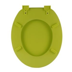 Bath Duck Wc-Ülőke - Mdf Színes - Műanyag Zsanérokkal - 3a Zöld