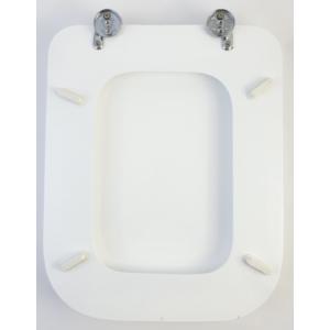 Bath Duck Wc-Ülőke - Mdf - Cink Zsanérokkal - Fehér - A - Kocka