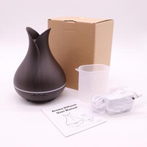 BipiLine Aromaterápiás Diffúzor - SXL - Fa Hatású - Színváltós - Sötétbarna - 150ml
