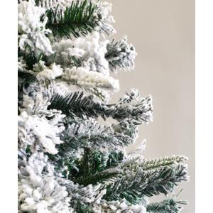 MyLike Aspen Havas Műfenyő - 150cm - 500 ág + Ajándék Fém Fenyőtalp (Snow)