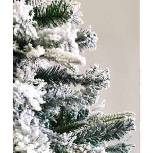 MyLike Aspen Havas Műfenyő - 180cm - 900 ág + Ajándék Fém Fenyőtalp (Snow)