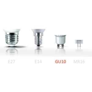 Philips CorePro LED izzó GU10 4,6W 2700K meleg fehér 40W izzó kiváltására