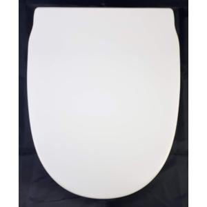 """Bath Duck Wc-Ülőke - Duroplaszt - Rozsdamentes Acél Zsanérokkal - Fehér """"A"""""""