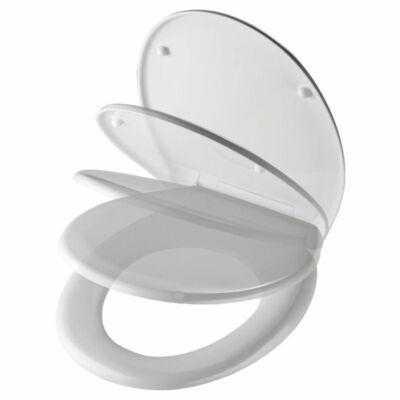 Bath Duck Wc-Ülőke - Duroplaszt - Easy Click - Lecsapódásmentes Zsanérokkal - Fehér