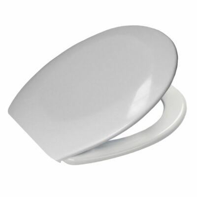 Bath Duck Wc-Ülőke - Duroplaszt - Műanyag Zsanérokkal - Fehér