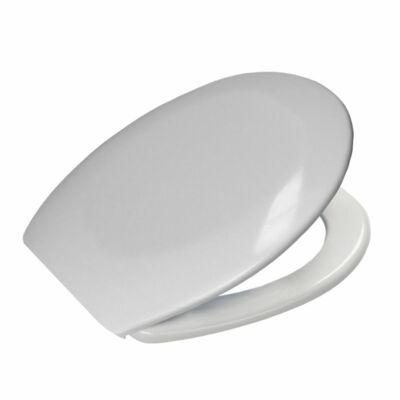 Bath Duck Wc-Ülőke - Duroplaszt - Rozsdamentes Acél Zsanérokkal - Fehér
