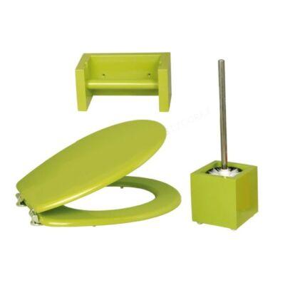 Bath Duck Wc-Ülőke - Wc-Kefe Tartó - Wc-Papír Tartó - Zöld