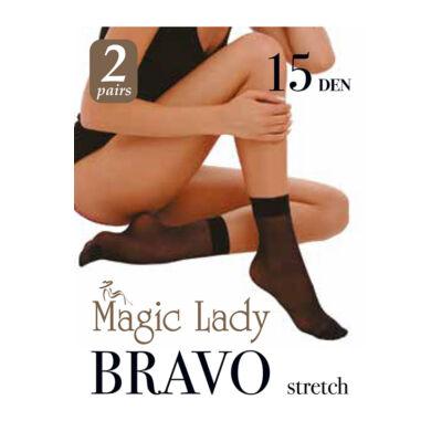 Magic Lady Bokaharisnya Bravo 15/2pár/Black