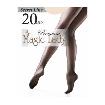 Magic Lady Harisnyanadrág Secret Line 20/3/Black