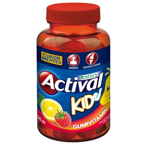 Actival Kid Gumivitamin 50db