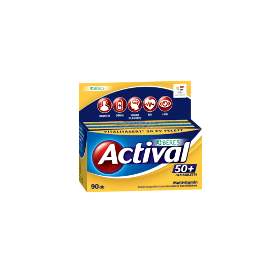 Actival 50+ Filmtabletta 90db