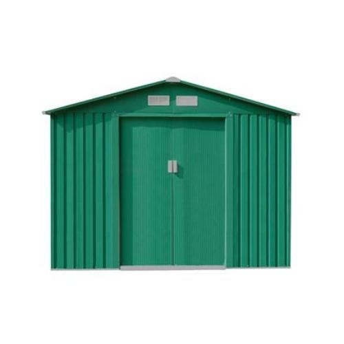 G21 Kerti Ház / Tároló - Fém - Zöld - 251x231cm (GAH 580)