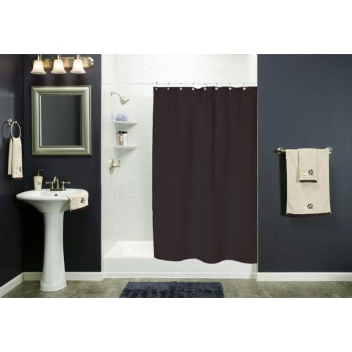 Bath Duck Zuhanyfüggöny - Peva - 180 X 200cm - Fekete