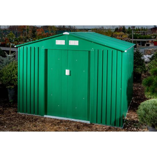 Kerti Fém Ház - Zöld - 251x231cm (GAH 580)