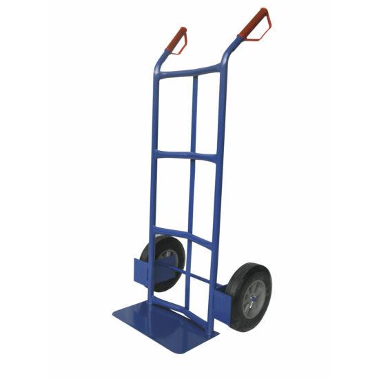 Molnárkocsi - 200kg, kék, telekerék