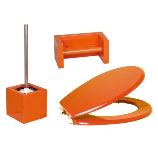 Bath Duck Wc-Ülőke - Wc-Kefe Tartó - Wc-Papír Tartó - Narancssárga