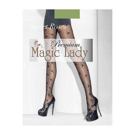 Magic Lady Harisnyanadrág Sweet Toses 20/4/Black
