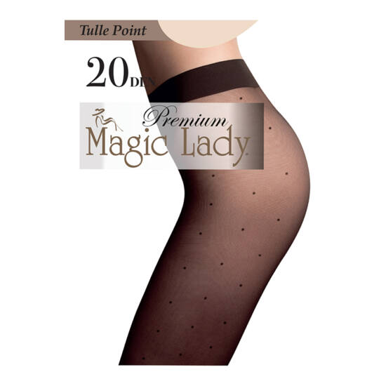 Magic Lady Harisnyanadrág Tulle Point 20/4/Vizone