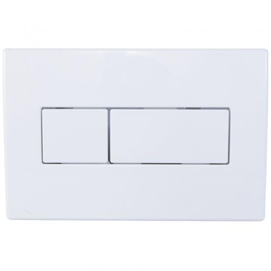 Wc-Tartály Nyomólap Fehér Styron  Sty-800-1