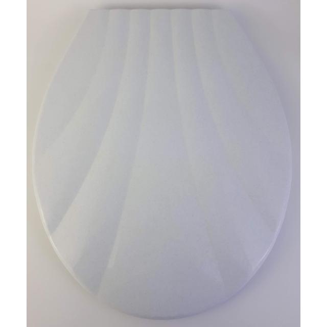 Bath Duck Wc-Ülőke - Műanyag - Fehér Szemcsés