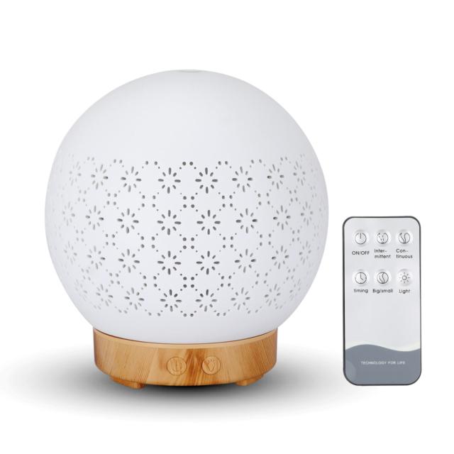 BipiLine Aromaterápiás Diffúzor  - Globe - Színváltós  - 100ml
