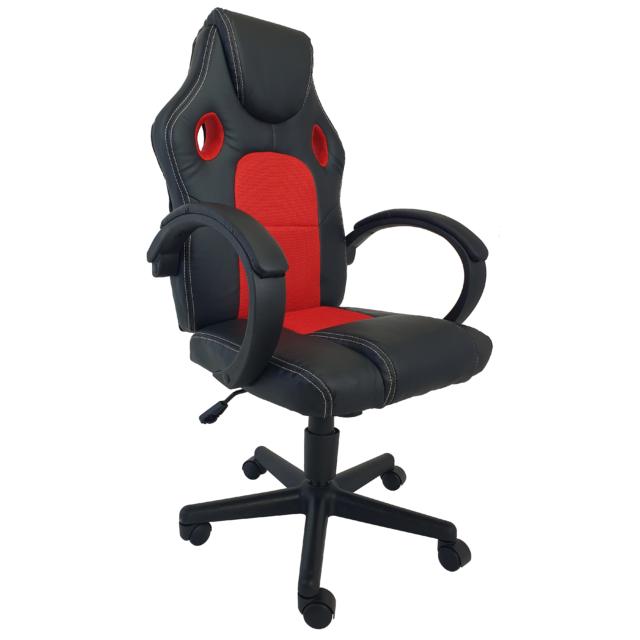 MyLike Gamer Szék - Eco - Fekete/Piros
